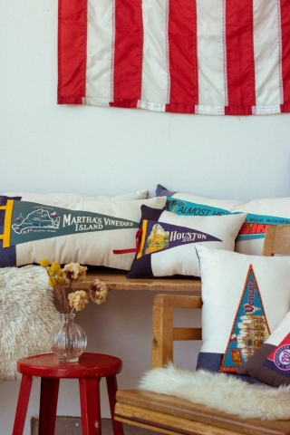 American Roadtrip Pillows